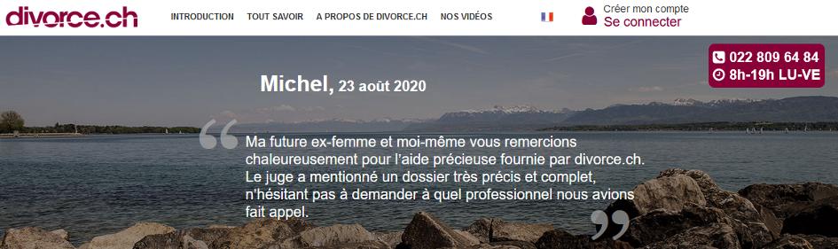 Suisse : divorcezsans avocat et en toute sécurité avec l'aide de divorce.ch